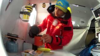 sarah hebert s first experience on a class 40 sailing boat
