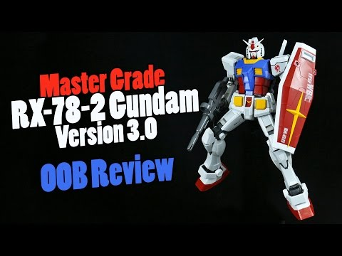 1146 - MG RX-78-2 Gundam 3.0 (OOB Review)