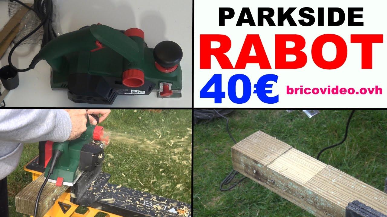 parkside peh 30 a1 rabot electrique lidl electric planer elektrohobel