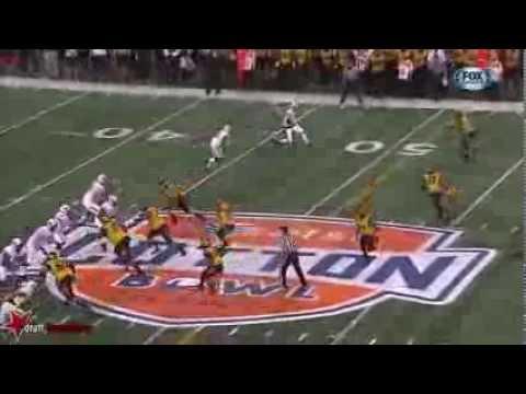 Josh Stewart (WR Oklahoma St) vs Mizzou, 2014 Cotton Bowl