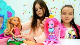 Салон красоты для кукол. Мультики для девочек