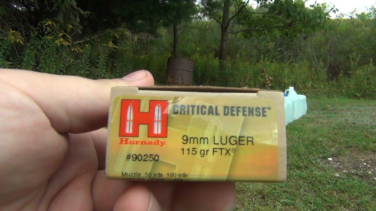 9mm luger penetration