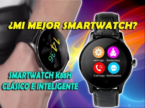 ¿El Mejor Smartwatch? Review K88H en Español & English Subtitle😀