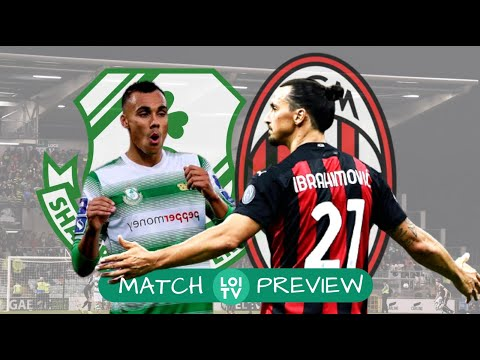 Can Shamrock Rovers Beat Ac Milan Europa League Second Qualifying Round Youtube