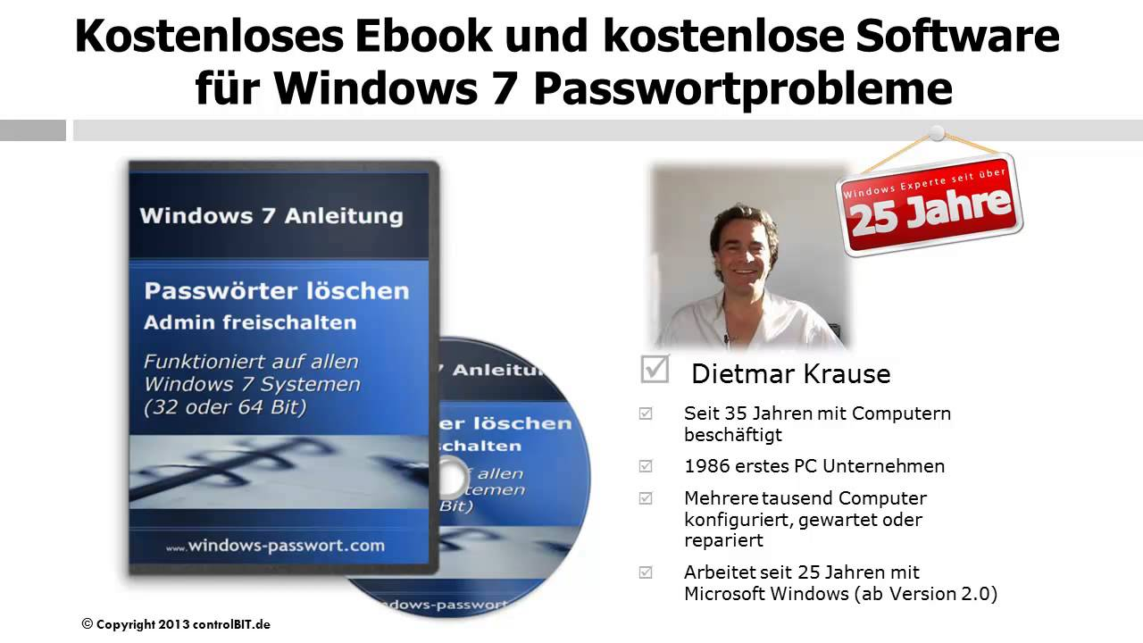 Windows Passwort Vergessen Win7