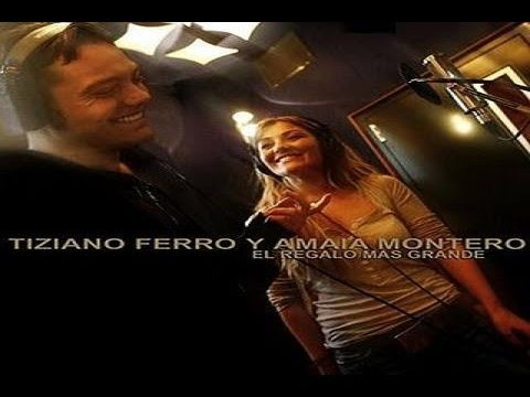 Tiziano Ferro & Amaia Montero - El Regalo mas Grande Legenda BR PT