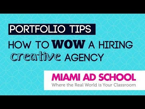 Portfolio Tips: How to WOW a Hiring Creative Agency | Miami Ad School