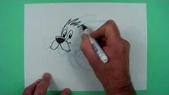 Wie zeichnet man Idefix? Zeichnen für Kinder