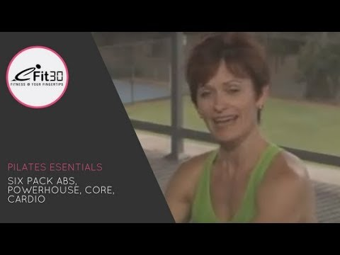 Pilates Essentials, Abs, Powerhouse, Butt, 30 Mins