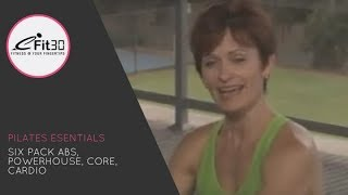 Pilates Essentials, FULL 30 Minute exercise video - eFit30 thumbnail