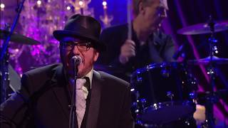 "Elvis Costello performs ""The Hunter Gets Captured By The Game"""