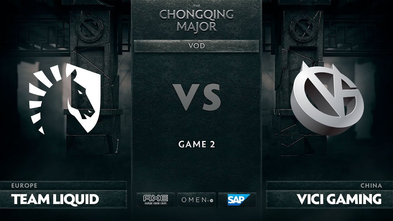 [RU] Team Liquid vs Vici Gaming, Game 2, The Chongqing Major, Group C