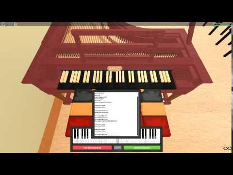 The Super Mario Bros Theme on a ROBLOX piano