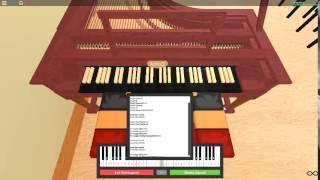 Das Super Mario Bros Thema auf einem ROBLOX Klavier.