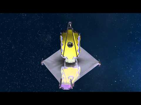 James Webb Space Telescope - Unfurls