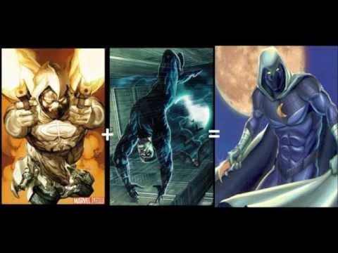 Marvel+DC=Amalgam