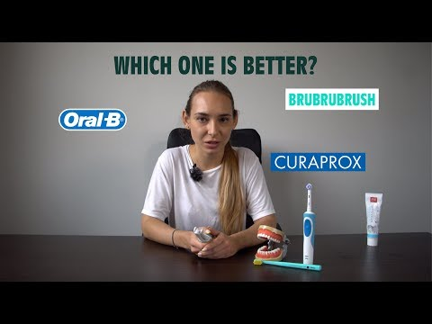 Toothbrushes Battle: Curaprox Vs. Oral-B Vs.BruBruBrush Prototype [Toothbrush Review]