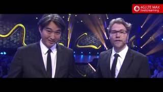 """David Hain gewinnt die Kategorie """"Journalism"""" - Webvideopreis Deutschland 2016"""