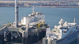 Морской космодром Одиссей, ну просто огромный!!! Мегамашины National Geographic / Видео