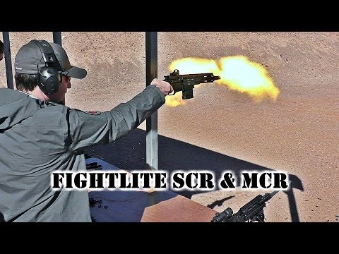 FightLite Raider & MCR (Full Auto) On The Range at SHOT Show 2018