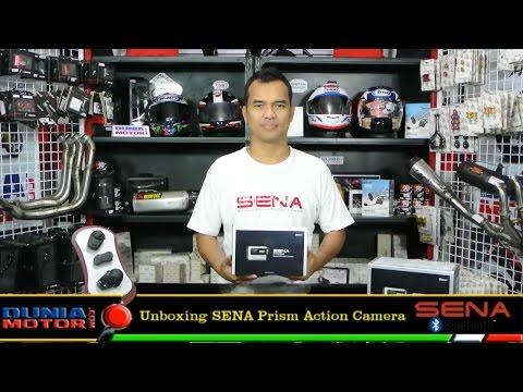 Sena Prism Action Camera - Unboxing At DuniaMotor.com