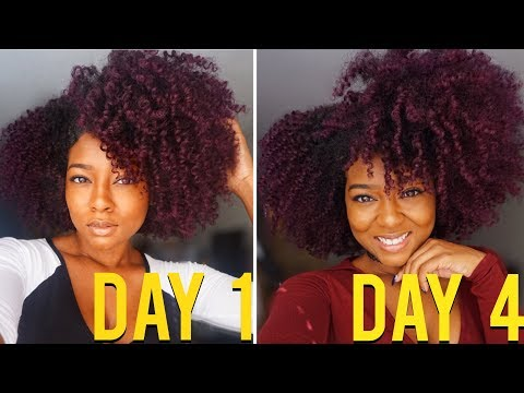 How To Maintain Twist Out for 4-7 Days on Natural Hair | Satin Life Review