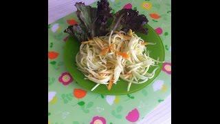 """Салат """"Кабачки по -корейски"""" быстрого приготовления"""
