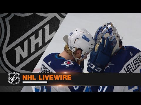 NHL LiveWire: Jets, Predators mic'd up for heated Game 5 clash