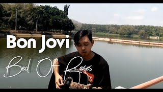 Bon Jovi - Bed Of Roses || cover by Mangku Alam