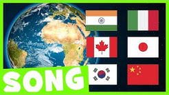 Countries Hello Song   Say Hello in Different Languages