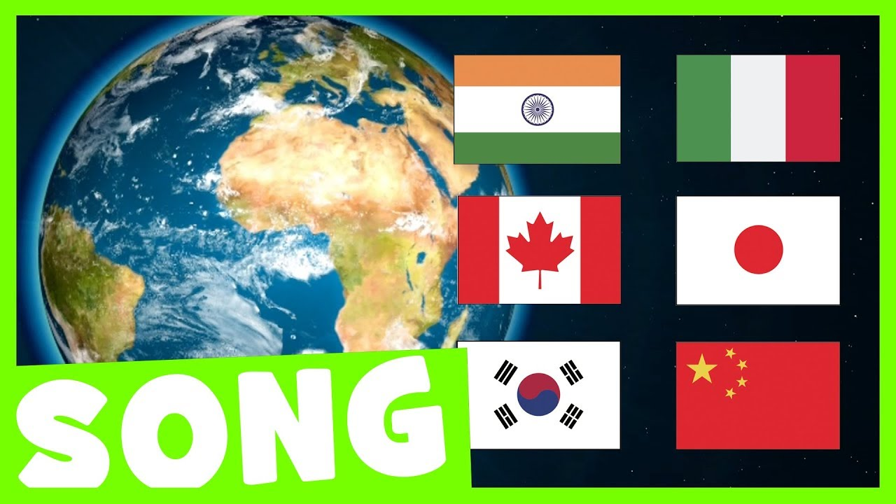 Countries Hello Song Say Hello In Different Languages Youtube