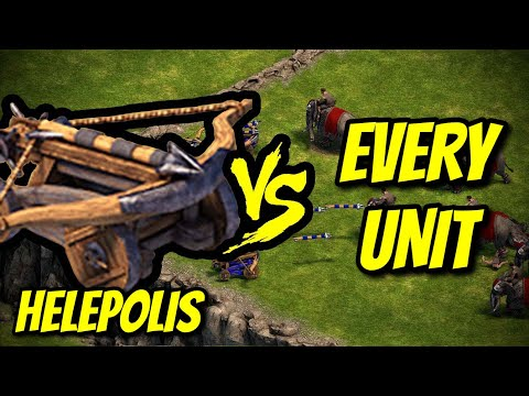 HELEPOLIS vs EVERY UNIT | Age of Empires: Definitive Edition |