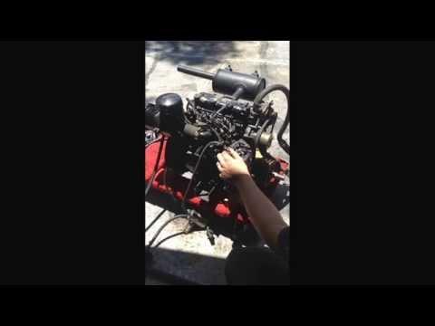 Mitsubishi L3E Diesel Engine