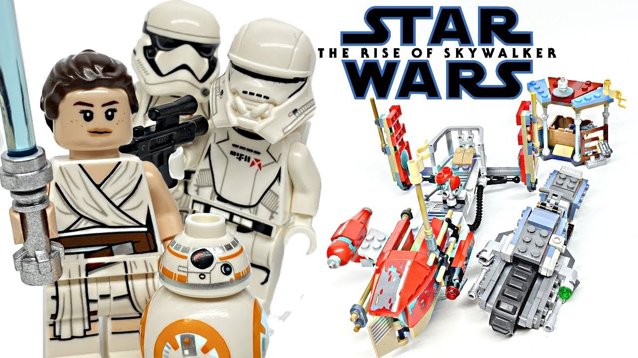 Lego Star Wars Pasaana Speeder Chase Review 2019 Set 75250 Youtube