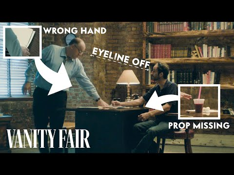 What Happens When A Movie Has No Script Supervisor? | Reverse Film School | Vanity Fair