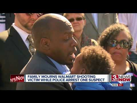Family mourns Walmart shooting victim while police arrest one suspect
