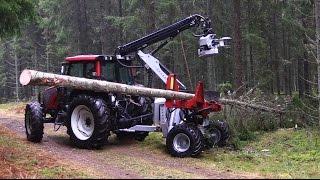 HYPRO 755 HB Hjulburen Traktorprocessor med FG45 Fällgrip