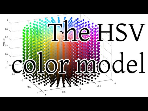 The HSV color model