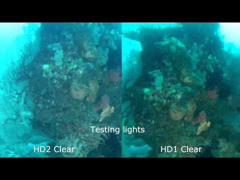 Day Dive 1 of 3 GoPro HD1, HD2 with Aquapix & BlurFix Clear & URPro Cyan