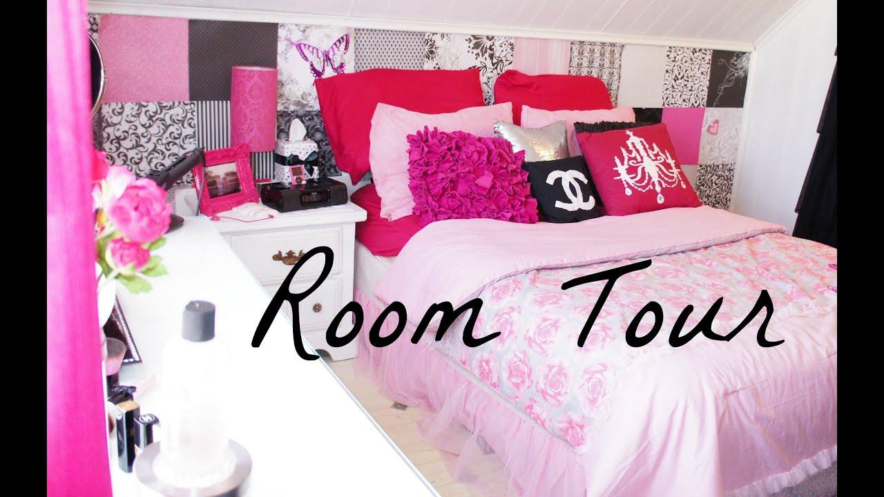 Room tour belinda selene youtube for Small room tour