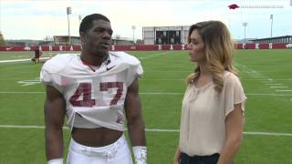 Spring Football Practice Report with Martrell Spaight 04-17-14