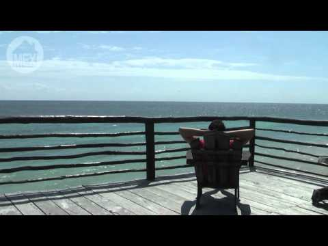 Luna Maya, Tulum - Pure Nature, Beautiful Hotel Relaxation (B). 25 Top Beaches in Riviera Maya Travel Video