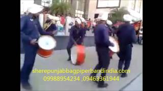 INDIA BEST BAGPIPE ARMY MILITARY PUNJAB SHER BAND Mobile: +91 099889 54234