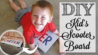 DIY Kid's Scooter Board