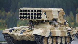 Война в Сирии  Применение ТОС 1  Буратино  в Сирии war in syria