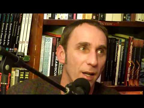 Will Self at Shakespeare & Co Paris - Walking to Hollywood 21/11/11