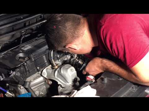 Honda Accord 2.4 2013-17 How to Replace Alternator, Water Pump and Thermostat