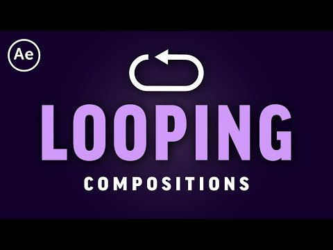 How to Loop Animations & Compositions | After Effects CC Tutorial