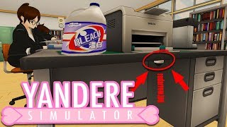 PLANTING LISTENING DEVICES AROUND SCHOOL & WE HAVE BLEACH! | Yandere Simulator