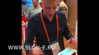 видео Защитное стекло на Эвотор 7.2